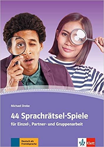 44 Sprachrätsel-Spiele: Für Einzel-, Partner- und Gruppenarbeit. Arbeitsblätter, Kopiervorlagen