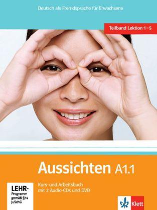 Aussichten A1.1  Kurs-und Arbb.+ 2 CDs + DVD