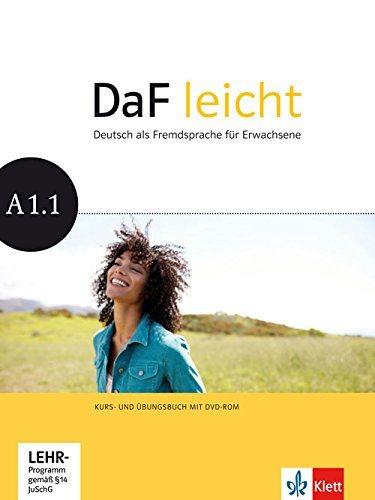 DaF leicht, Kurs-/Ubgsb. A1.1 +DVD-R