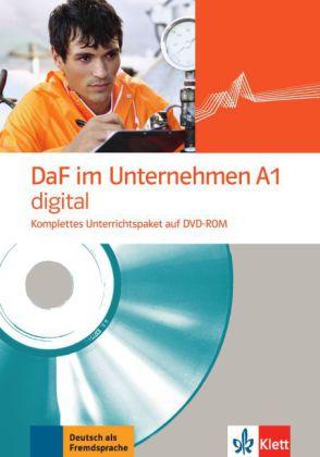 DaF im Unternehmen A1 digital, DVD-ROM
