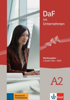 DaF im Unternehmen A2,M-Paket+CD+DVD