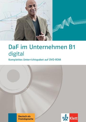 DaF im Unternehmen B1 digital, DVD-ROM