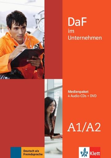 DaF im Unternehmen A1-A2 Medienpaket (4 CDs -DVD)
