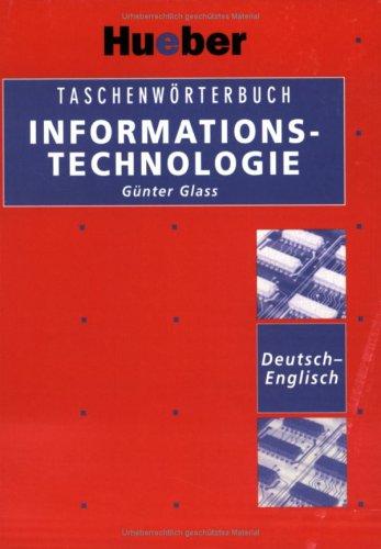 Taschenworterbuch Informationstechnologie Deutsch-Englisch