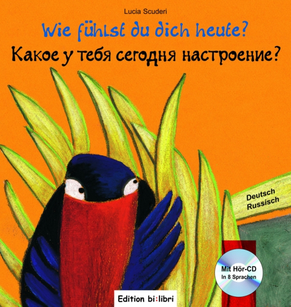 Wie fuhlst du dich, Deutsch - Russisch +CD