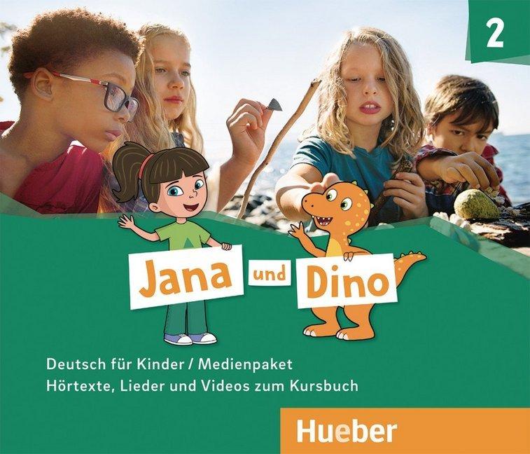 Jana und Dino 2; Medienpaket (2 Audio-CDs und 1 DVD zum KB)