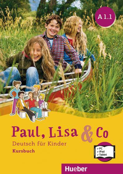 Paul, Lisa & Co A1/1 – Digitalisiertes Kursbuch mit integrierten Audiodateien