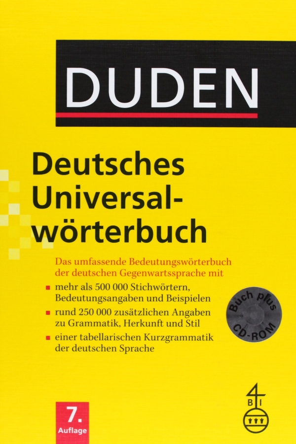 Duden, Deutsch Universalworterbuch  mit CD-ROM