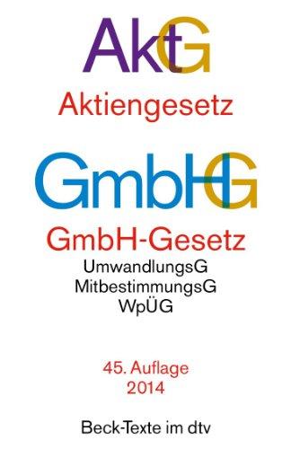 Aktiengesetz · GmbH-Gesetz