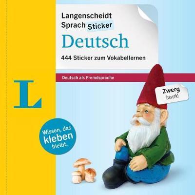 SprachSticker Deutsch - mit Fotos: 444 Sticker zum Vokabellernen