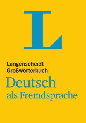 Grosswoerterbuch DaF  Buch kartoniert