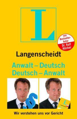 Anwalt - Deutsch  Deutsch - Anwalt