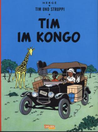 Tim und Struppi 1: Tim im Kongo (Softcover)