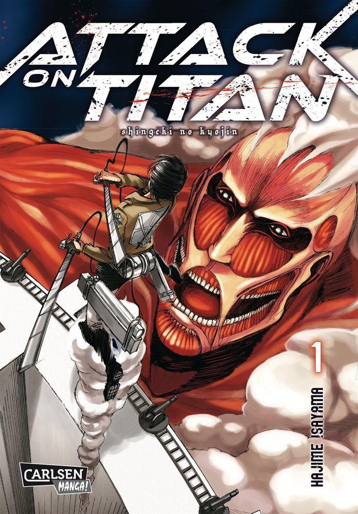 Attack on Titan 1 (Taschenbuch)