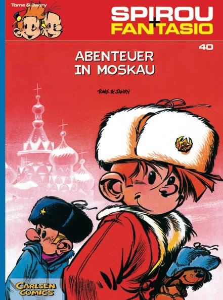 Spirou und Fantasio 40: Abenteuer in Moskau