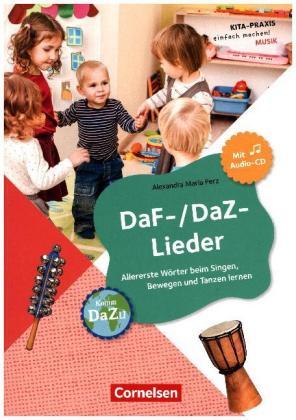 DaF - DaZ - Lieder mit Audio-CD