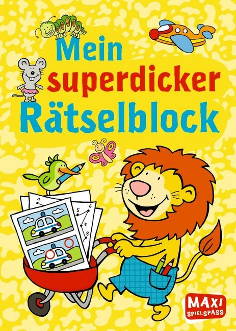 Mein superdicker Raetsellblock MAXI