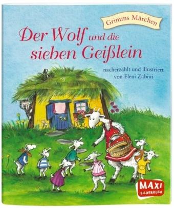 Der Wolf und sieben Geisslein