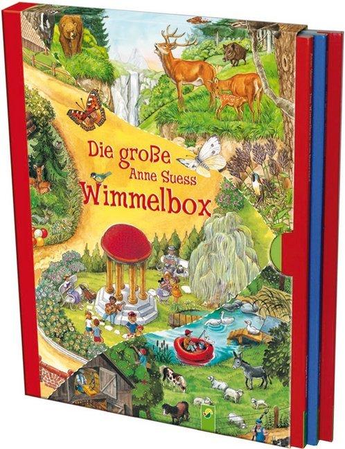 Die grosse Anne Suess Wimmelbox, 3 Bde.