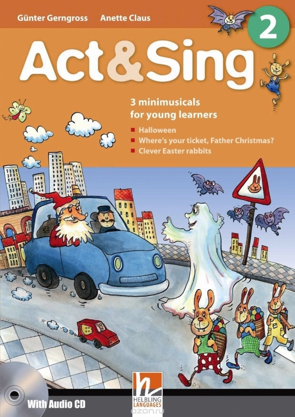 Act & Sing 2 + Audio CD 2 International