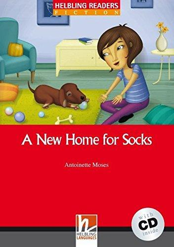 A New Home for Socks + CD (Antoinette Moses) level 1