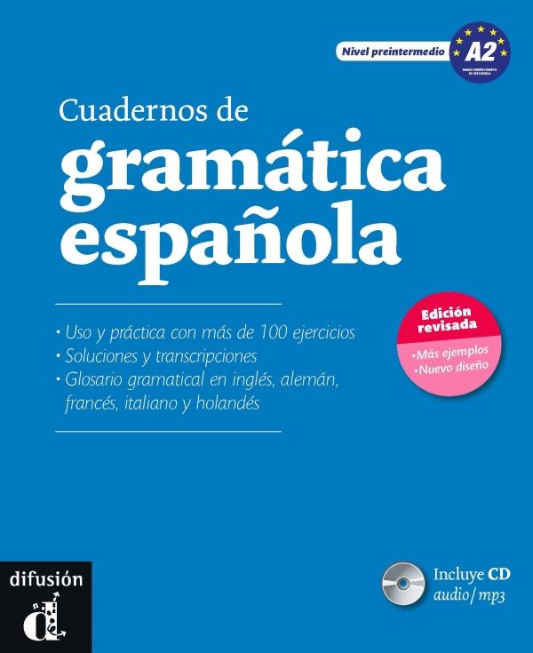 Gramatica espanola A2+CD Cuaderno Nueva edicion
