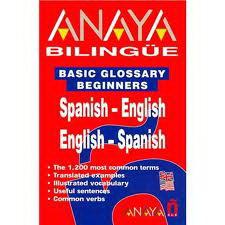 Anaya Bilingue Espanol-Ingles/Ingles Espanol