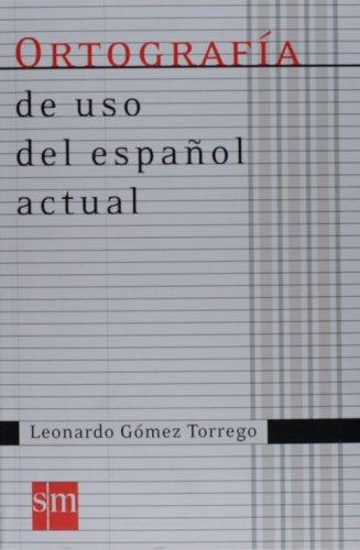 Ortografia Uso Espanol Actual 07