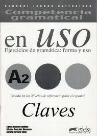 Competencia Gramatical En Uso A2 - Claves