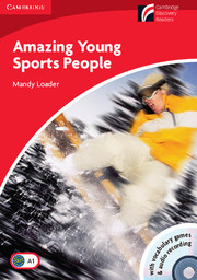 Amazing Young Sports People: Book with CD-ROM and Audio CD Pack