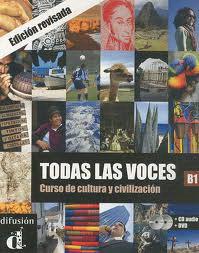 Todas las Voces Libro del Alumno B1+CD+DVD