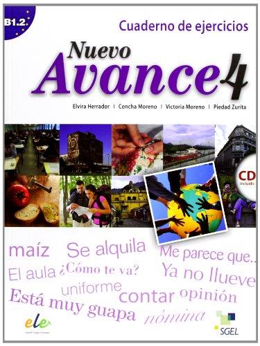 Nuevo Avance 4 Cuaderno de ejercicios + CD