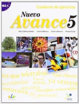 Nuevo Avance 5 Cuaderno de ejercicios + CD