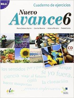 Nuevo Avance 6 Cuaderno de ejercicios + CD