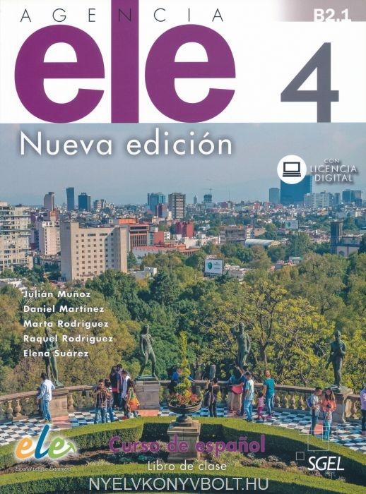 Agencia ELE 4 NEd Libro del alumno + @