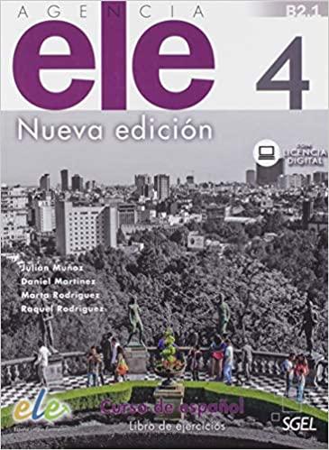 Agencia ELE 4 NED Cuaderno de ejercicios + @