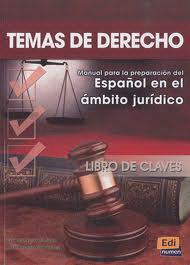 Temas De Derecho - Libro De Claves