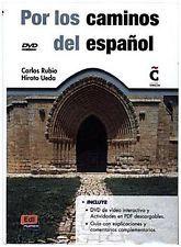Por Los Caminos Del Espanol (Libro + DVD)