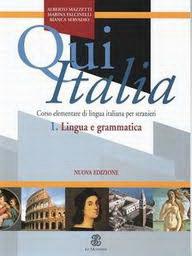Qui Italia 1 lingua grammatica