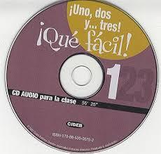 1 2 3! Que Facil! 1 CD Clase