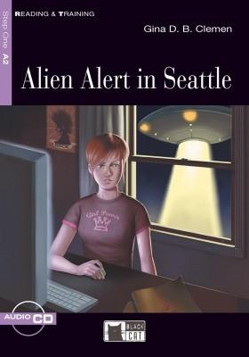 Alien Alert in Seattle (Book with Audio CD)