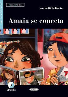 Amaia se conecta Libro con CD con App
