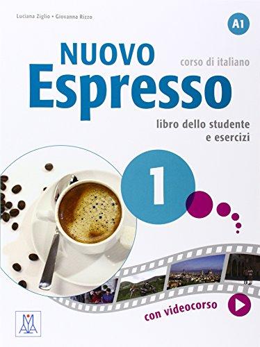 NUOVO Espresso 1 Libro + eserciziario