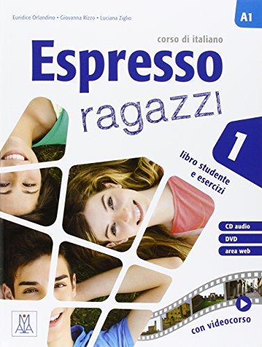 Espresso ragazzi 1 libro + CD audio + DVD