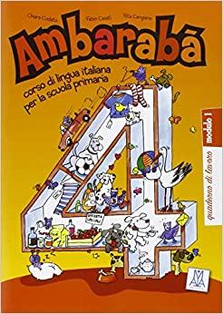 Ambaraba 4 (quaderno degli esercizi 1 e 2) (PK of 2)