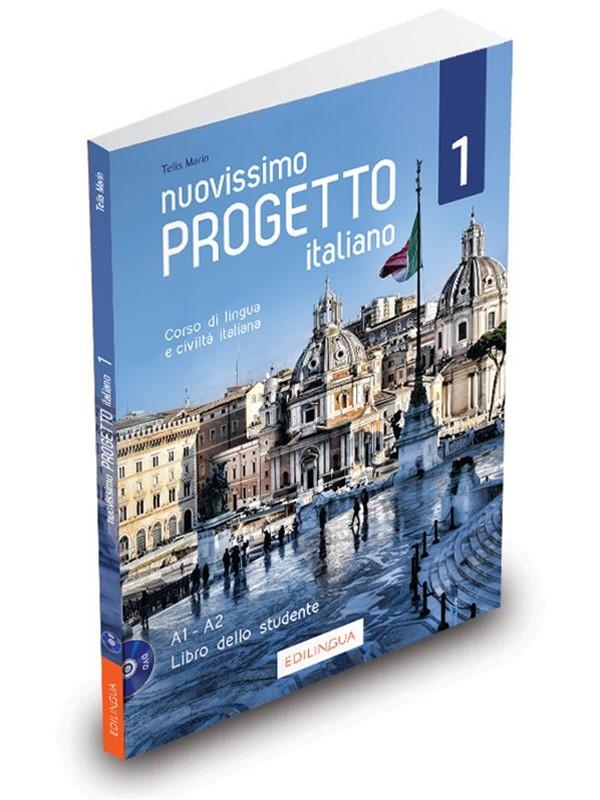Nuovissimo Progetto italiano 1 – Libro dello studente + DVD Video