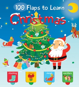 100 Flaps To Learn: Christmas