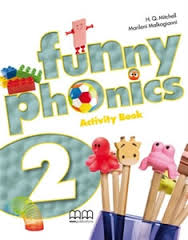 FUNNY PHONICS 2 ACTIVITY +CD