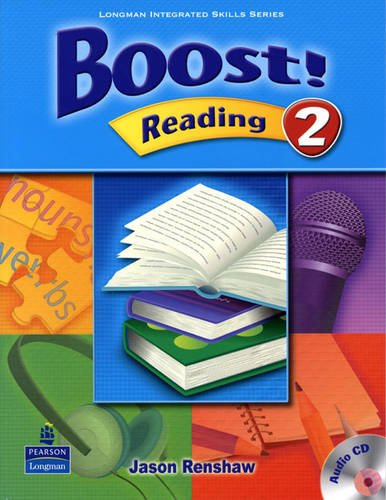 Boost Level 2 Reading Student Book with CD