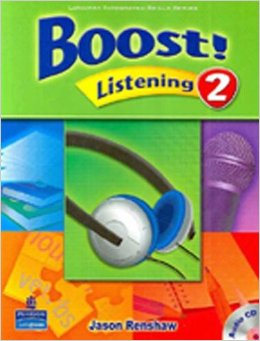 Boost Level 2 Listening Student Book with CD